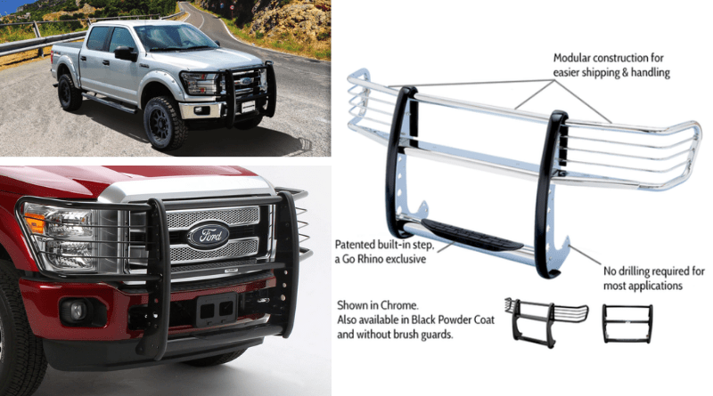 Go Rhino is responsible for developing the only patented modular bumper with a built in step.