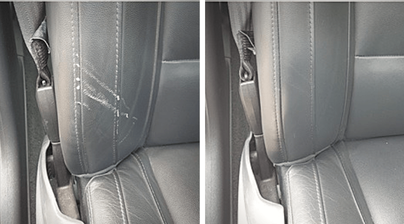 Car Leather Repair, How To Fix Tear In Leather Auto Seat