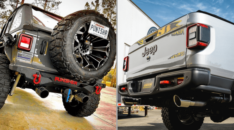 2020 jeep jl and gladiator exhaust