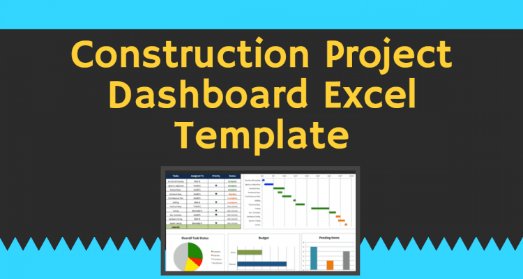 Monitor project progress with our free project management dashboard template. Construction Project Dashboard Excel Template