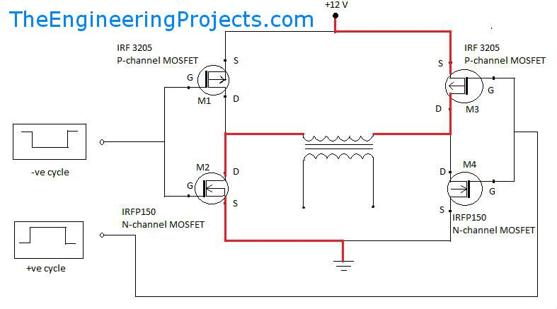 Menic likewise Kmw A besides Correcth Bridgecircuitconfiguration in addition W Audio  lifier With Transistor Sc Sa moreover Triac Bcontrolled Bvoltage Bstabilizer Bcircuit. on h bridge inverter circuit diagram
