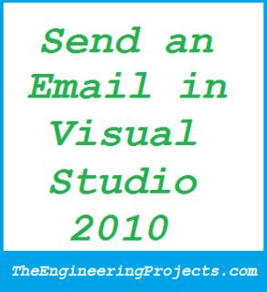 Sending Email in Microsoft Visual Studio 2010, how to send email in vb2010,send email in visual basic 2010