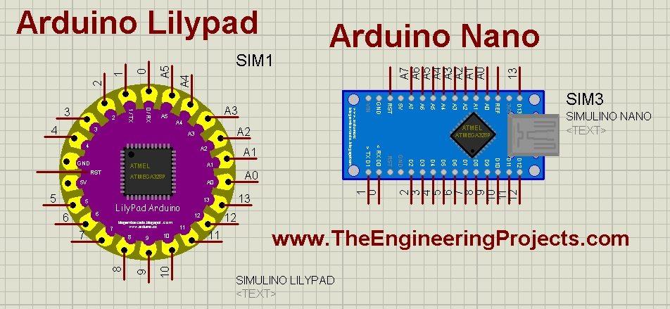 Arduino Lilypad Nano Library for Proteus, Arduino nano simulation in proteus, arduino lilypad simulation in proteus, arduino simulation in proteus, arduino library in proteus, arduino proteus library