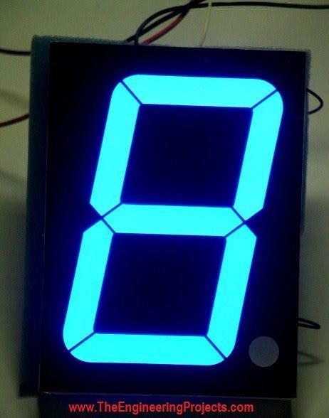 74ls247 7 Segment Display Circuit