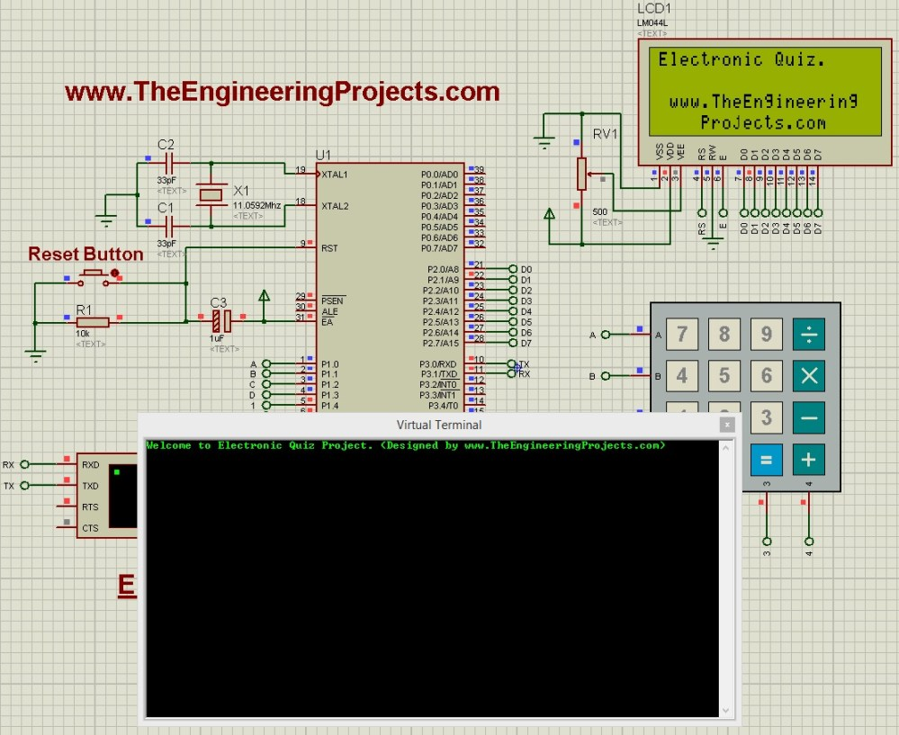 medium resolution of quiz project using 8051 microcontroller quiz project with 8051 microcontroller quiz project with 8051