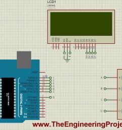 interfacing of keypad with arduino [ 1412 x 906 Pixel ]