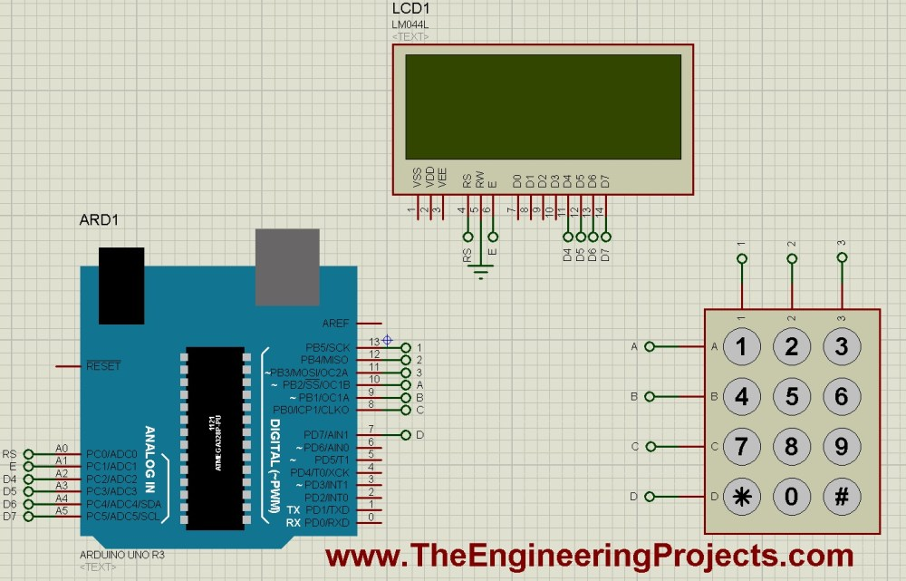 medium resolution of interfacing of keypad with arduino