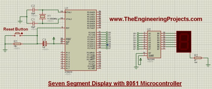 interface Seven Segment Display with 8051 Microcontroller, Seven Segment Display with 8051, interfacing of Seven Segment Display with 8051 Microcontroller, interface Seven Segment Display with 8051, 8051 seven segment display, 7 segment display 8051