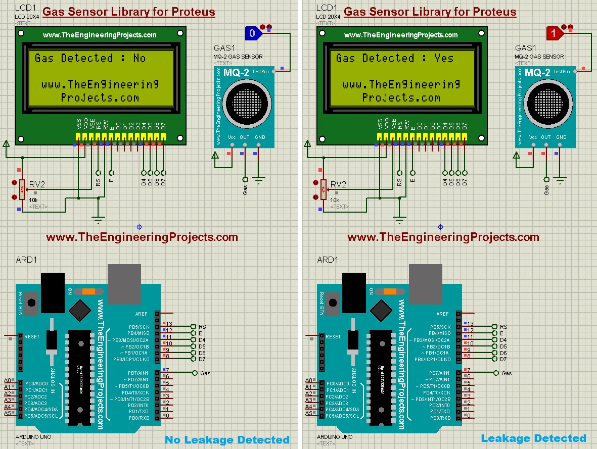 hight resolution of lpg gas leak detector using arduino the engineering projects arduino based lpg gas detector circuit diagram