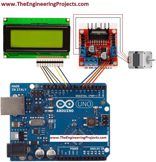 Arduino Uno Stepper Motor Wiring Diagram