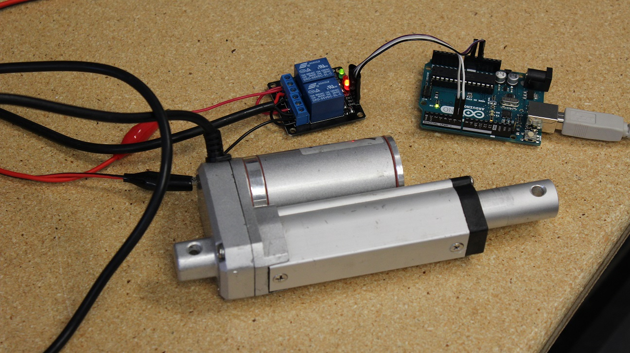 hight resolution of how to use an arduino with linear actuators arduino with linear actuators