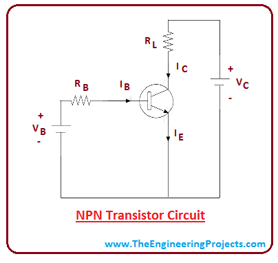 introduction to npn transistor  the engineering projects