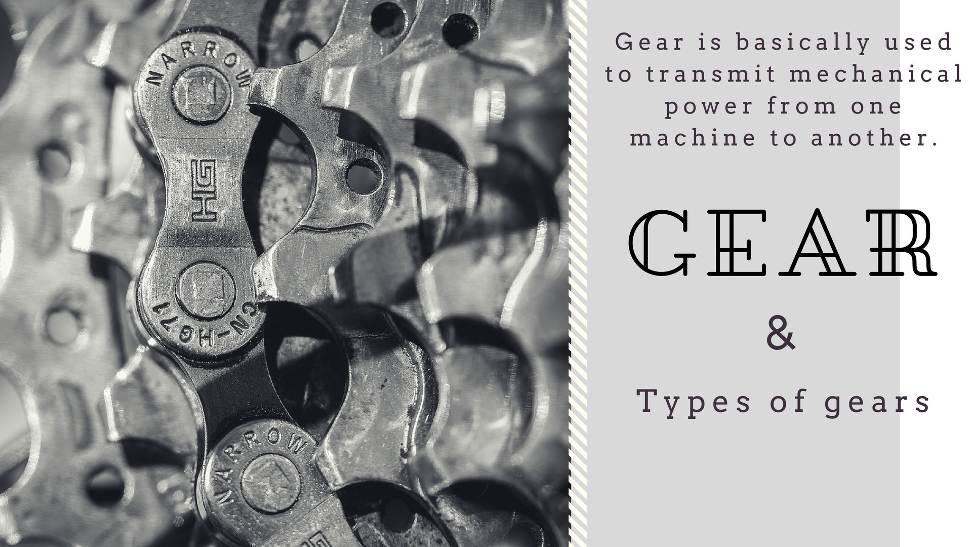 Types of Gears [Classification of Gears] | Types of Gear Trains