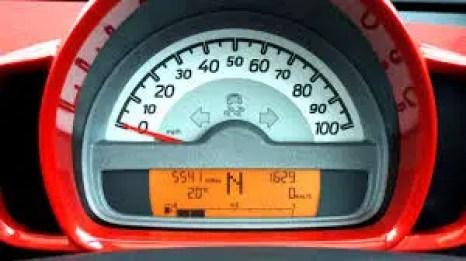 Temperature Gauge in car