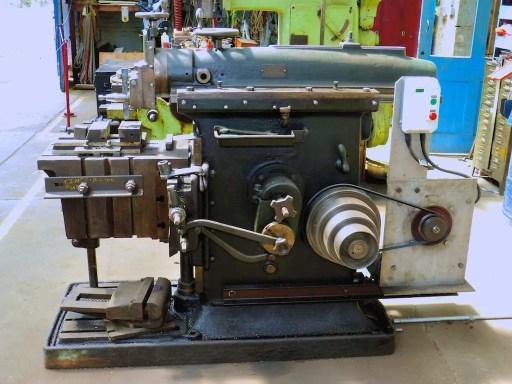 shaper machine mechanism