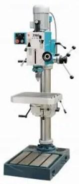 Upright drilling machine