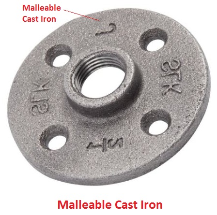 Malleable Cast Iron