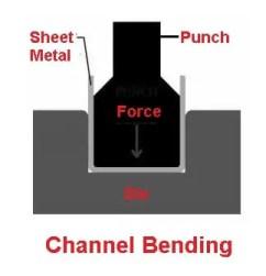 Channel bending