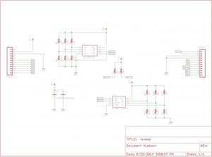 Serial EEPROM Board: Interfacing into the Blue Bird Board