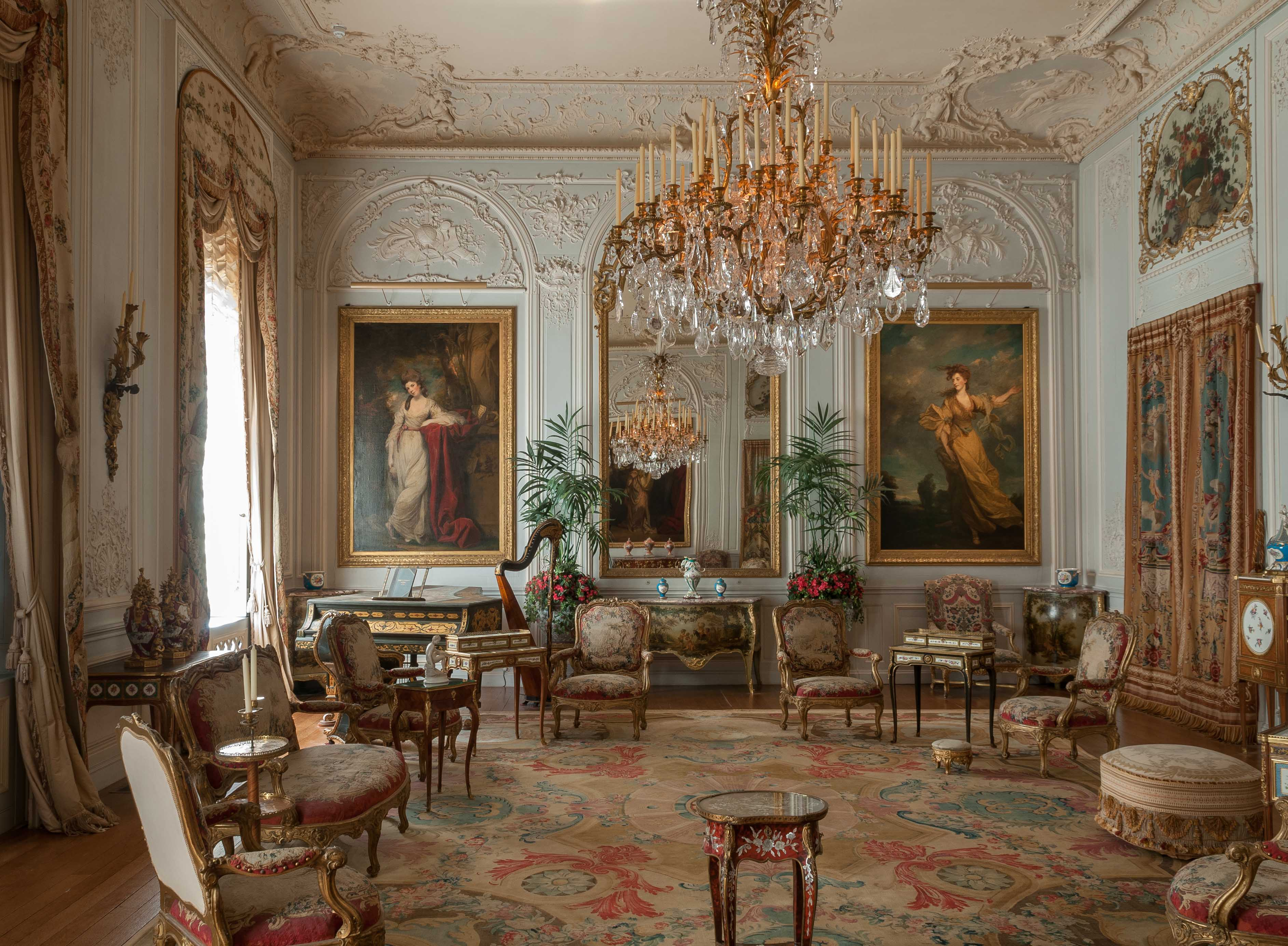 6 Grey Drawing Room Waddesdon Manor Photo by Mike Fear