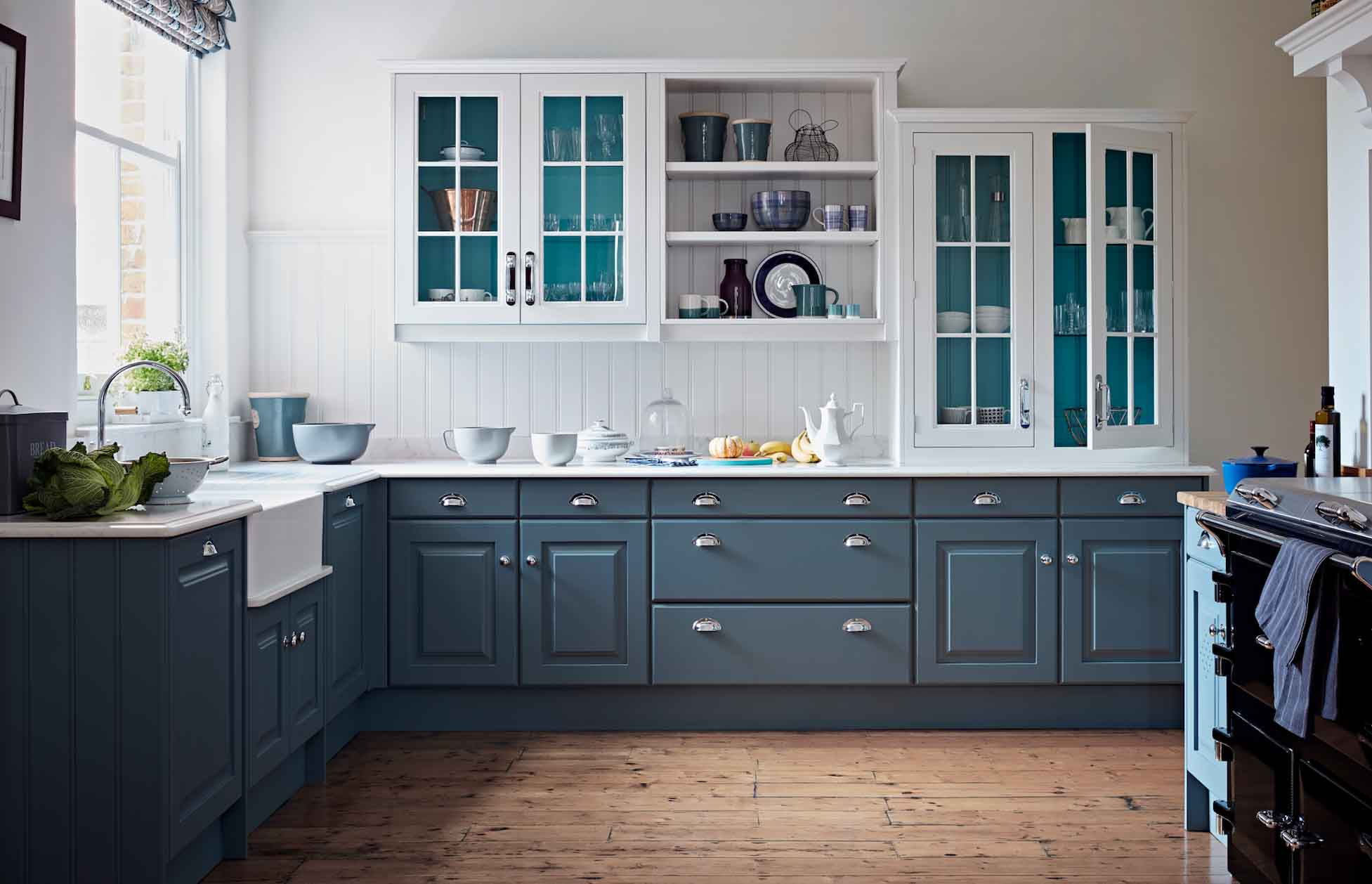 Rich dark painted kitchens to inspire  The English Home
