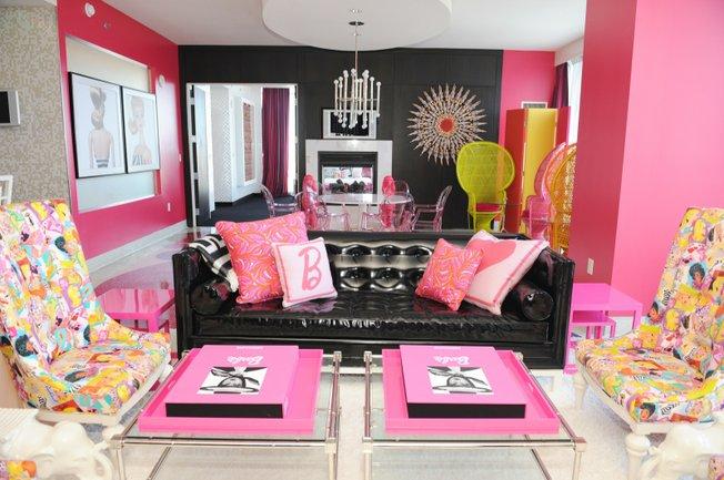 Malibu Barbie Dream House  The English Room