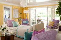 Lavender and Yellow..A lovely combo. | The English Room