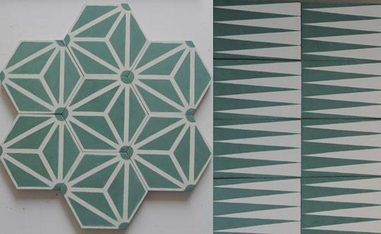 Tile Patterns Design Floor