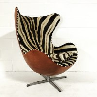 Chair Love: Zebra Arne Jacobsen Egg Chair | The English Room