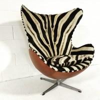 Chair Love: Zebra Arne Jacobsen Egg Chair   The English Room