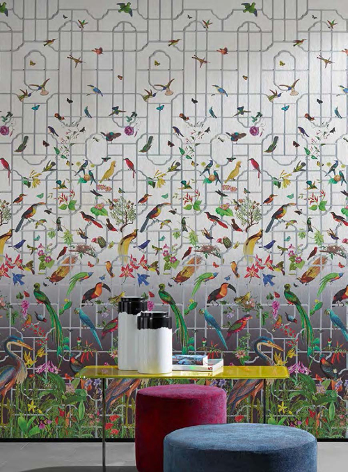 Wallpaper in every price range for every budget. Wallpaper Wednesday With Sahco The English Room