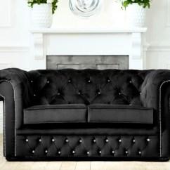 Chesterfield Corner Sofa Velvet Will Saddle Soap Clean My Leather Diamante   Fabric Sofas