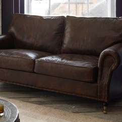 English Sofa Company Manchester Living Room Decor Black Leather Sofas 2 3 4 Seater Handmade Settees Couches Arlington Studded