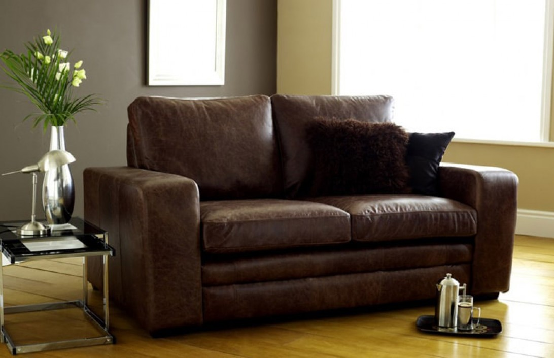 all leather sofa bed rolf benz gebraucht kaufen beds handmade from real top grain 50 colours denver brown