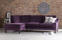 Hilary Contemporary Chaise Sofa | Fabric Chaise Sofas