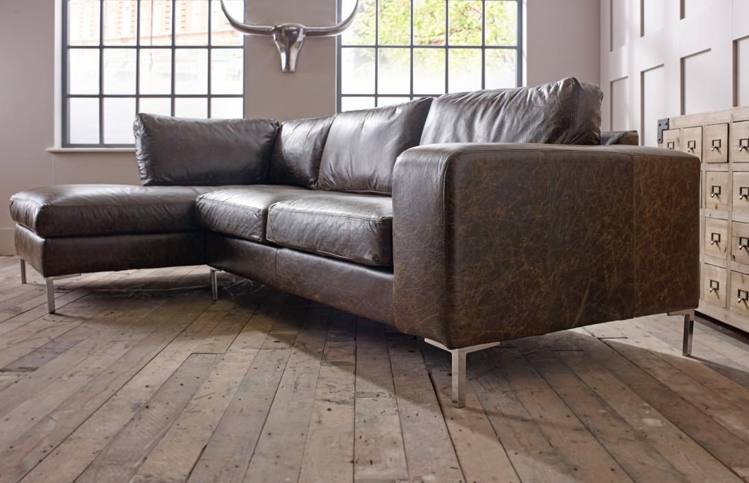 Wellington Chaise Corner Sofa Left Hand Facing  Corner Sofas
