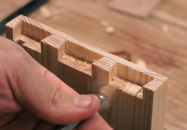 Blind Dovetail Joint