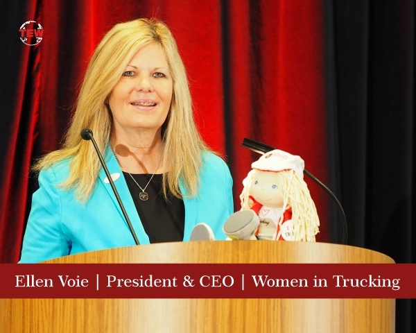 Ellen Voie President & CEO Women in Trucking