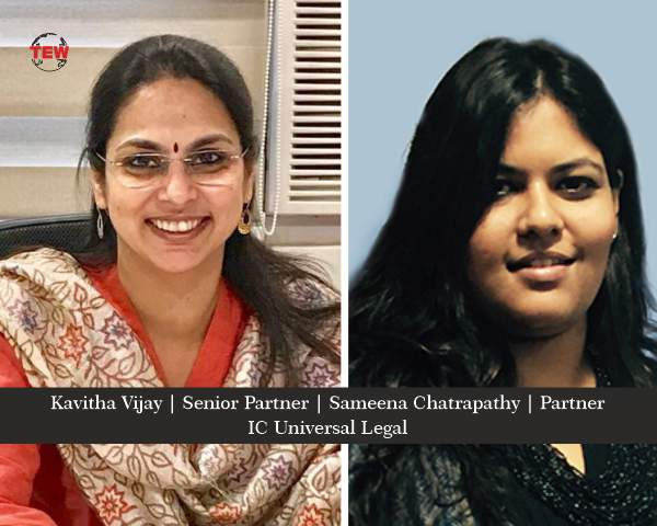 Ms. Kavitha Vijay and Ms. Sameena Chatrapathy  For The Perfect Legal Solutions