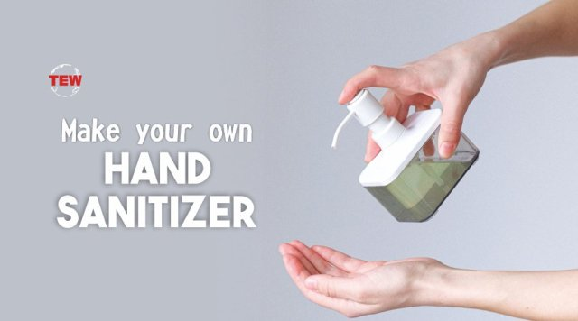 Person Taking sanitizer on Hand