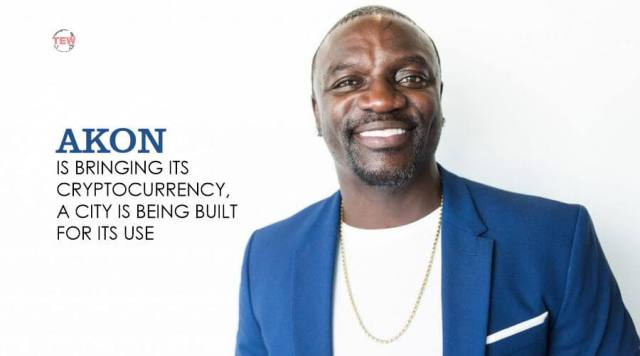 American singer Akon in image and he is going to built akon crypto city in senegal
