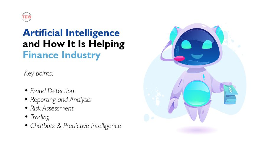 image showing Artificial Intelligence and How It Is Helping Finance Industry