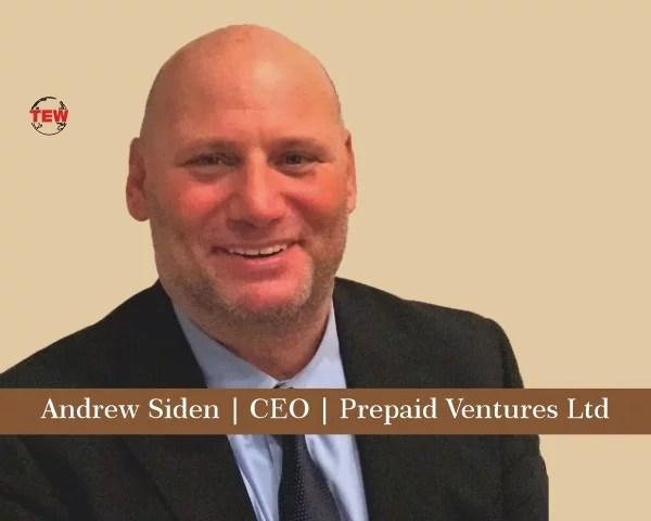 Andrew Siden CEO Prepaid Ventures Ltd