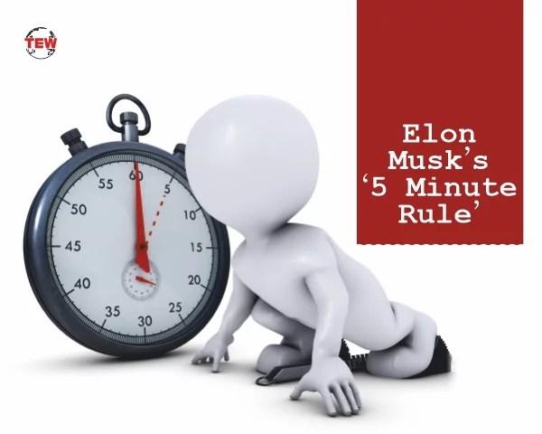 Elon Musk's '5 Minute Rule'(Time Blocking method) - The Enterprise World