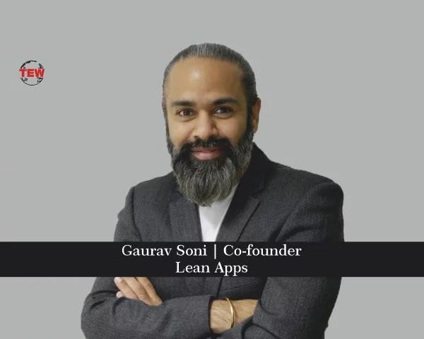Gaurav Soni Founder of Lean Apps