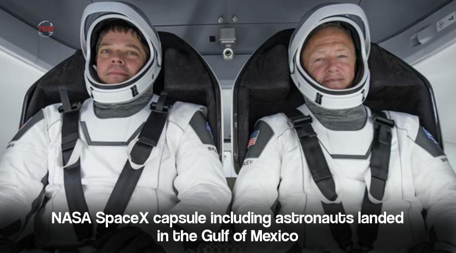 Image of Nasa two Astronauts Doug Hurley and Bob Behnken