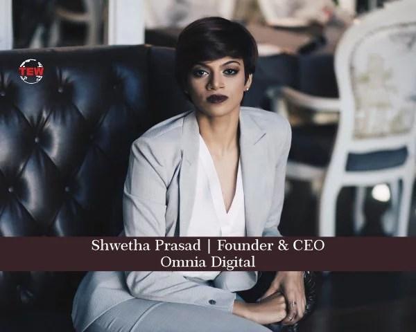 Shwetha Prasad Founder & CEO