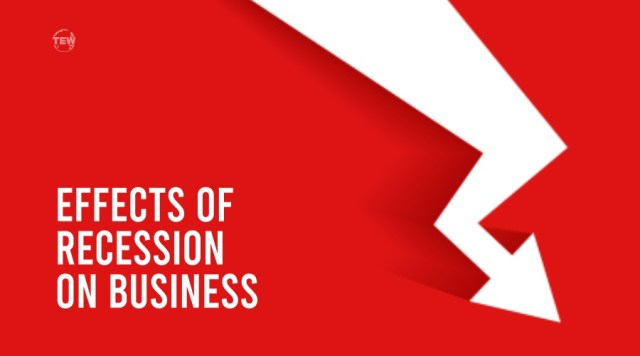 Image written Effects of recession on Business