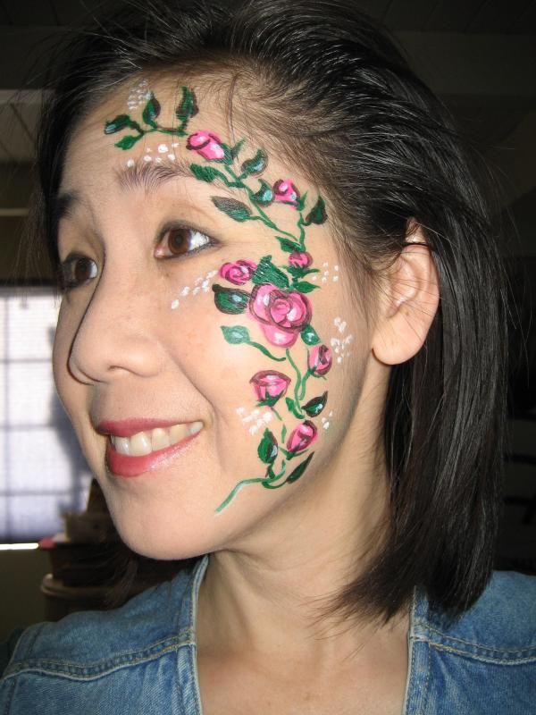 Airbrush Tattoos Face Painting T-shirts