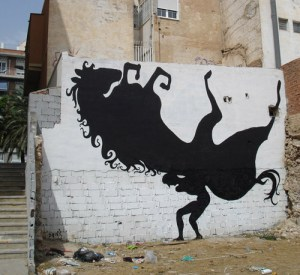 Wall art (or graffiti) depicting horses appears around the world!